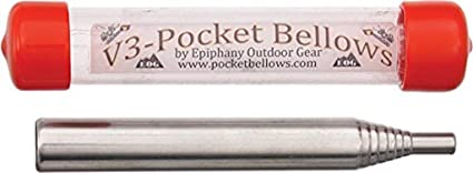 Pocket Bellows Collapsible Fire Bellowing Tool