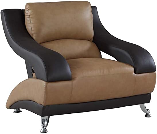 Blackjack Furniture 982 Anderson Collection Leather Match Upholstered Modern Living Room