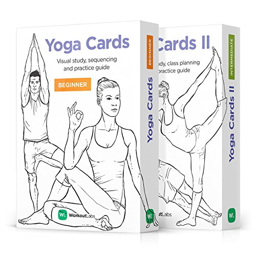 WorkoutLabs Yoga Cards I & II – Complete Set: Professional Visual Study, Class Sequencing & Practice Guide · Premium Flash Cards Decks with Sanskrit ()
