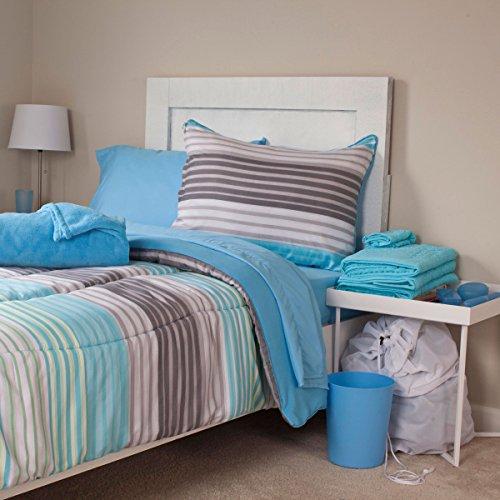 Lavish Home 24-Piece Monaco Kids Bedroom and Bathroom Comforter Towels Set, Twin X-Large by Lavish Home