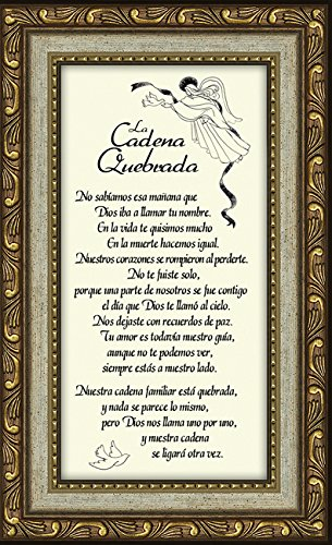 Amazoncom Spanish Español Broken Chain Poem Poema La Cadena