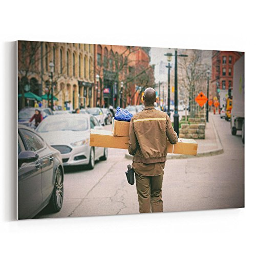 Westlake Art - Delivery Guy - 24x36 Canvas Print Wall Art -
