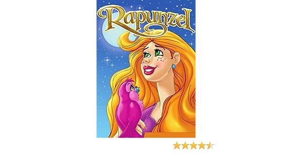 RAPUNZEL. Libro ilustrado para chicos de 3 a 8.: El inolvidable cuento de hadas de los Hermanos Grimm ilustrado por maravillosos dibujos a todo color para . ...