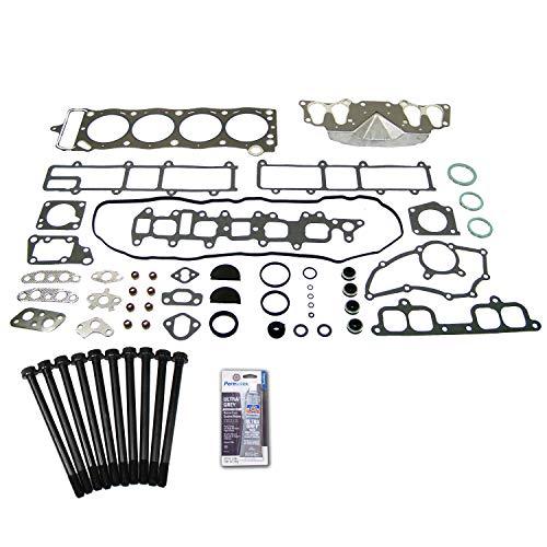 (Head Gasket Set Bolt Kit Fits: 85-95 Toyota Celica 2.4L SOHC 8v 22R 22RE 22REC)