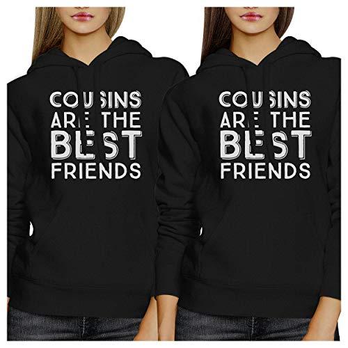 Femme Manches Unique Printing The Longues Black Are Taille Best Cousins Sweat À 365 Capuche Friends wYqRUII