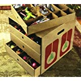 Amazon Price History for:Christmas Decoration Storage Large Corrugated Ornament Organizer with Dividers – Hold Up to 82 Ornaments! BY JUMBL™ NEW!!!