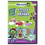 Super Why: Attack of the Eraser [DVD] [Region 1] [US Import] [NTSC]