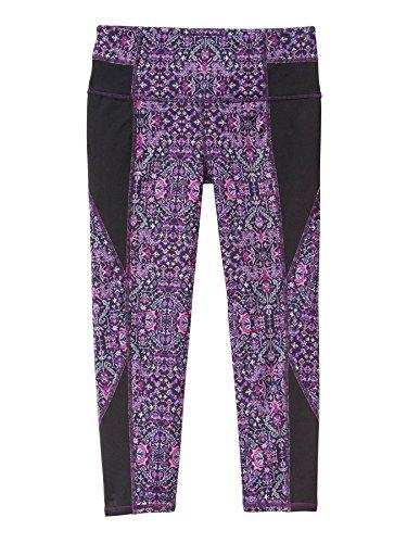 Athleta High Rise Tapestry Chaturanga Capri - Purple Drama (XXSmall)