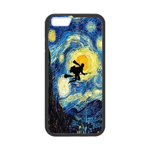 the Case Shop- Harry Potter Hogwarts TPU Rubber Hard Back Case Cover Skin for iPhone 6 4.7 Inch ,i6xq-142