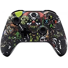 """""""Scary Party"""" Xbox One S / X Rapid Fire Custom Modded Controller 40 Mods for All Major Shooter Games WW2 (with 3.5 jack)"""