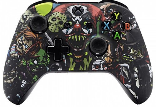 Scary Party  Xbox One S   X Rapid Fire Custom Modded Controller 40 Mods For All Major Shooter Games Ww2  With 3 5 Jack