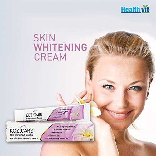 Healthvit Kozicare Kozic Acid Vitamin C E Arbutin Skin Whitening
