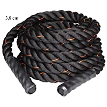"LiveUp Sports Battle Rope - 1.5"" Thick, 30 Feet"