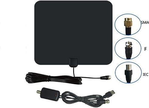 Antena de TV en la habitación/60 millas Antena HDTV digital TDT ...