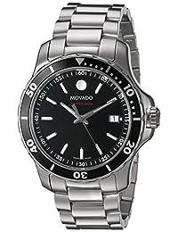 Movado Men's 2600135 Swiss Quartz Stainless Steel Automatic Watch