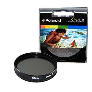 Polaroid Optics PLFILCPL72 - Filtro polarizador circular, 72mm, color negro