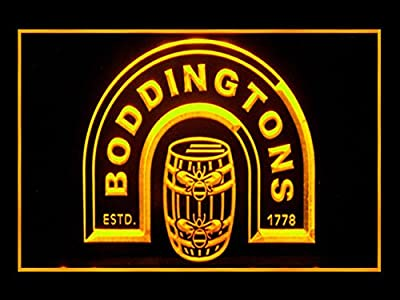 Boddingtons 1778 Drink Beer Pub Bar Led Light Sign