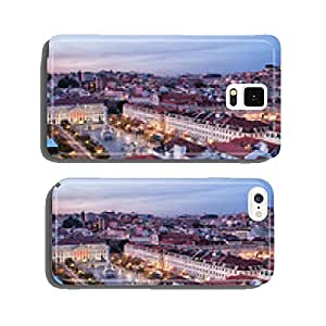 View Over City of Lisbon at Dusk in Portugal cell phone cover case iPhone5