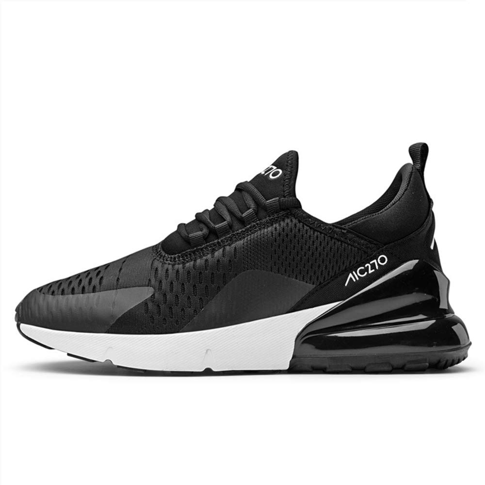 - LH Spring and autumn men's sneakers cushion thick-soled sports shoes running shoes shock absorption,46