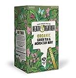 Heath & Heather Organic Green Tea & Moroccan Mint (Pack of 3) For Sale