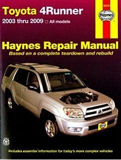 2002 toyota 4runner repair manual pdf