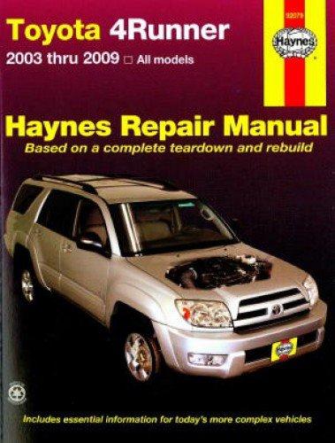 toyota 4runner repair manual - 9