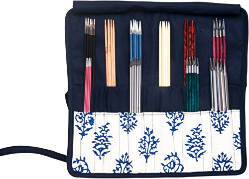Knitter's Pride Navy Double Pointed Needle Case 6-8