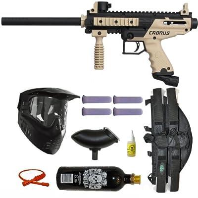 Tippmann Cronus Paintball Gun 3Skull 4+1 Mega Set