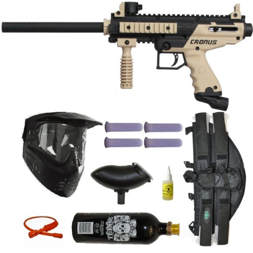Tippmann Cronus Paintball Gun 3Skull 4+1 Mega Set Tippmann Paintball Equipment