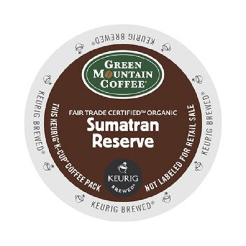 Green Mountain Coffee Fair Trade Organic Sumatran Reserve, K-Cup Portion Pack for Keurig Brewers 24-Count (Keurig Organic Coffee K Cups compare prices)