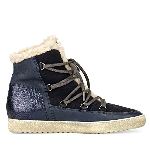 Paul Femme 4434031 Bleu Green Baskets Hautes PTPqBnrwY