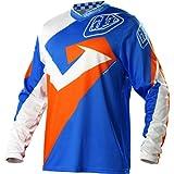 Troy Lee Designs GP Air Vega Men's Dirt Bike Motorcycle Jersey - Blue/Orange / Large