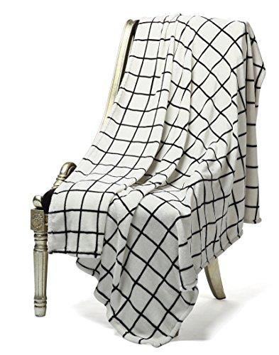 Bertte Ultra Velvet Plush Super Soft Decorative Throw Blanket-50