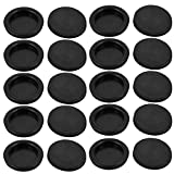 uxcell 20Pcs 50mm Drill Hole Diameter Electrical Rubber Wire Protection Grommet Gasket