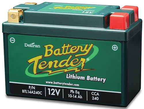 14L A2 Motorcycle Battery - 5