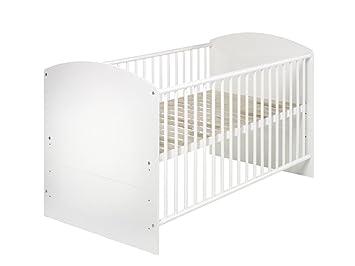 Kinderbett weiß 70x140  Schardt 04 497 02 02 - Kombi-Kinderbett Classic-Line weiss 70x140 ...