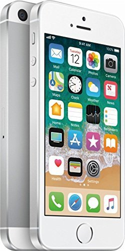 Apple iPhone SE, GSM Unlocked, 64GB - Silver (Renewed)]()