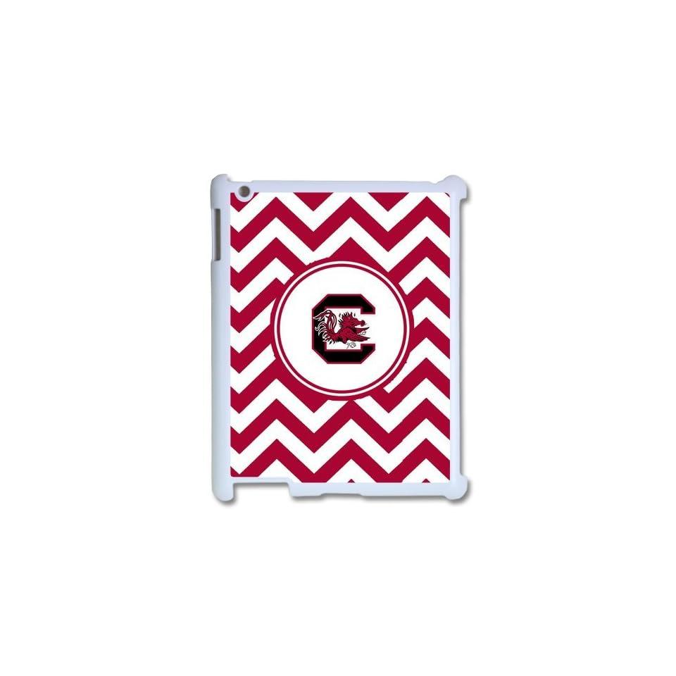 NCAA South Carolina Gamecocks Logo Hard Cases Cover for Ipad 2/3/4