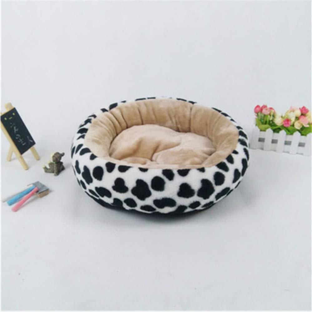 Wuwenw  Paño De La Felpa del Paño De Oxford Engrosado Cordero Caliente Cama Suave del Perro del Algodón Pequeña Casa De Perro del Animal Doméstico, L