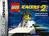 lego advance - Lego Racers 2 GBA Instruction Booklet (Game Boy Advance Manual Only)