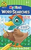 School Zone - My First Word Searches Workbook - Ages 5 to 7, Kindergarten to 1st Grade, Activity Pad, Search & Find, Word Puzzles, and More (School Zone Little Busy BookTM Series)
