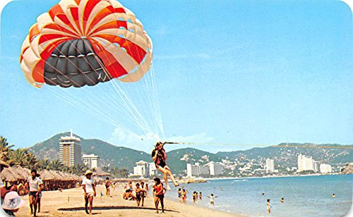 Playa Hornos Acapulco Mexico Postcard Tarjeta Postal at ...