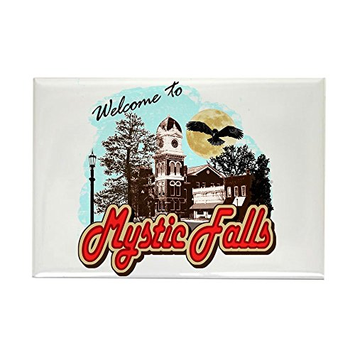 CafePress Vampire Diaries Mystic Falls Rectangle Magnet, 2