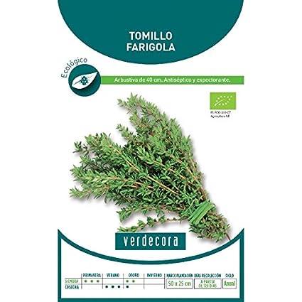 Semillas Ecológicas - Tomillo Farigola - Verdecora
