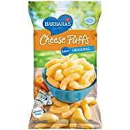 Barbara's Baked Original Cheese Puffs, Gluten Free, Real Aged Cheese, 5.5 Oz (Pack of 12)