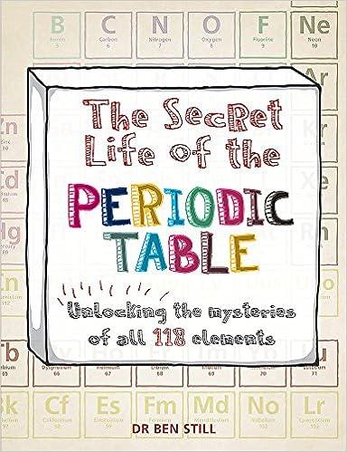 The secret life of the periodic table amazon dr ben still the secret life of the periodic table amazon dr ben still 9781844038855 books urtaz Gallery