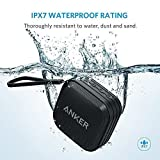 Anker SoundCore Sport Portable Bluetooth Speaker [IPX7 Waterproof/Dustproof Rating, 10-Hour Playtime] Outdoor Wireless Shower Speaker with Enhanced Bass and Built-In Microphone