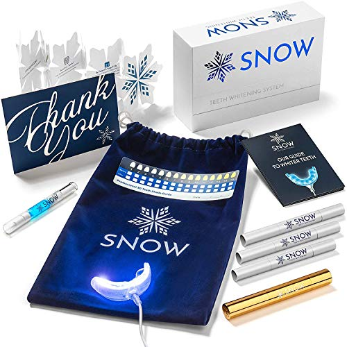 Snow Teeth Whitening Kit All-in-One At-Home Teeth Whitening System for Whiter Teeth Without Sensitivity