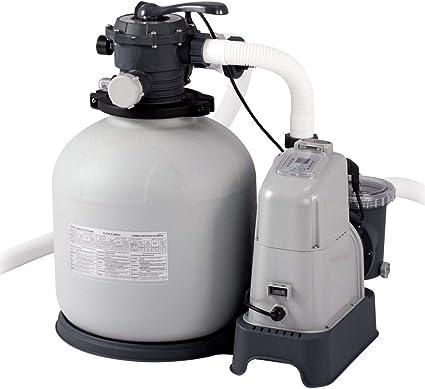 Intex 28680 - Combo arena y cloración salina ECO 11 gramos, 56.800 ...