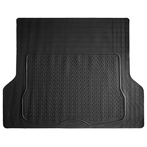 (COPAP Heavy Duty HD Rubber Cargo Liner Floor Mat Weathershield Trim-to-Fit All Season Protection for Cars, SUVs, Vans, Truck)